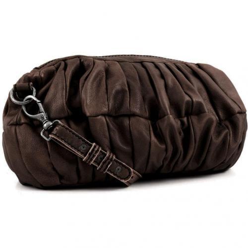 Liebeskind D Leather Bessy Schultertasche Leder taupe