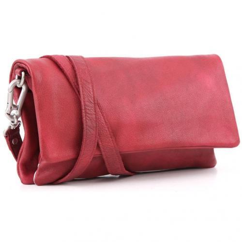 Liebeskind D Leather Clarissa Clutch Leder pink