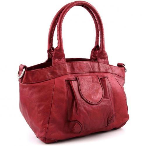 Liebeskind D Leather Flora Shopper Leder pink