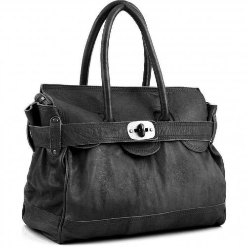 liebeskind d leather gloria henkeltasche leder schwarz designer handtaschen paradies it bags. Black Bedroom Furniture Sets. Home Design Ideas