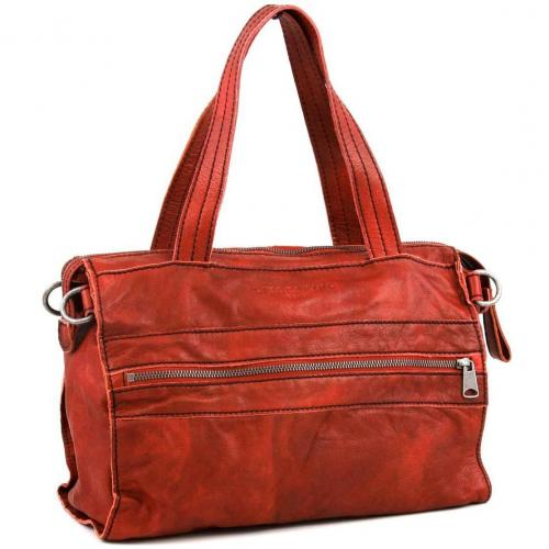 Liebeskind D Leather Jane Henkeltasche Leder orange