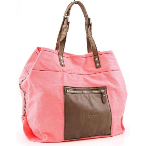 Liebeskind Cotton Beta Shopper neon rot