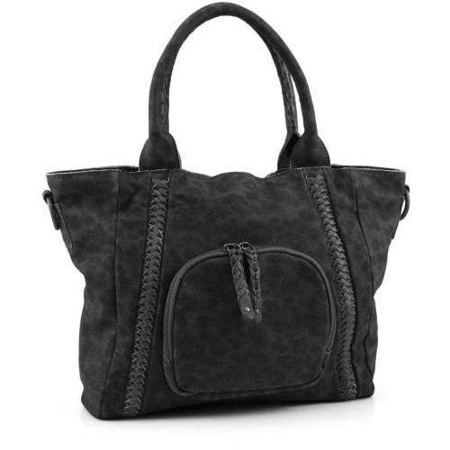 liebeskind leo mara henkeltasche leder schwarz designer handtaschen paradies it bags. Black Bedroom Furniture Sets. Home Design Ideas
