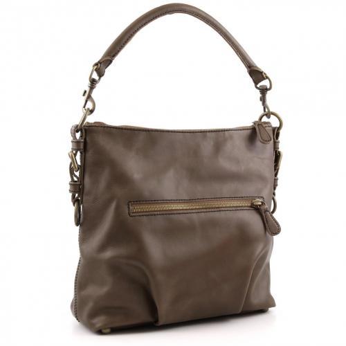 Liebeskind limited Pull Up Leather Kapstadt Beuteltasche Leder braun