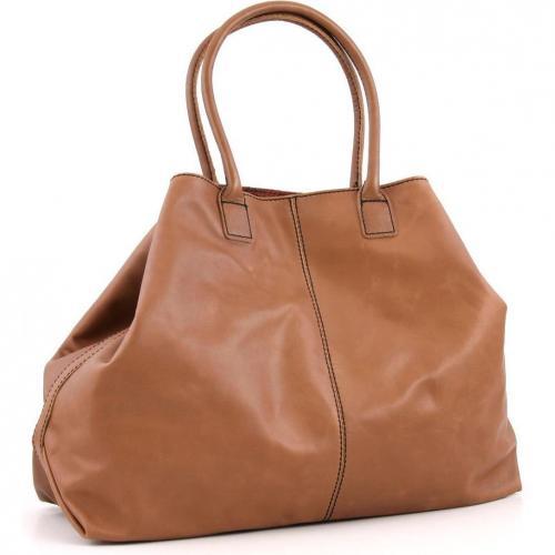 Liebeskind Limited Pull Up Leather Paris Shopper Leder saddle brown