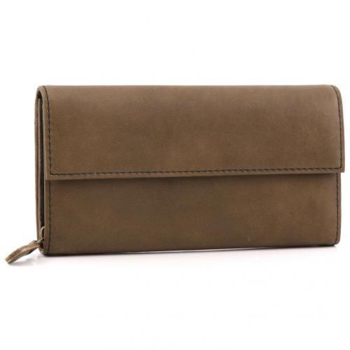 Liebeskind limited Pull Up Leather Vienna Geldbörse Damen Leder braun