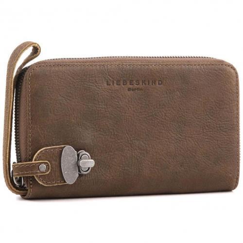 liebeskind nature marlen clutch leder braun designer handtaschen paradies it bags burberry. Black Bedroom Furniture Sets. Home Design Ideas