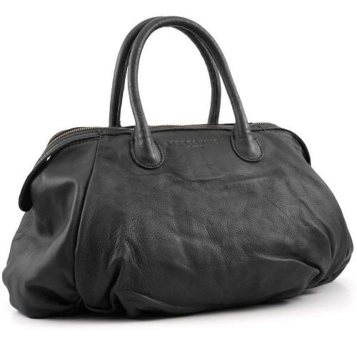 liebeskind vintage francisb henkeltasche leder grau. Black Bedroom Furniture Sets. Home Design Ideas