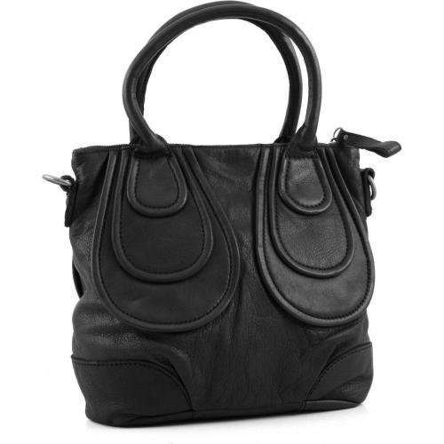 liebeskind vintage johanna henkeltasche leder schwarz designer handtaschen paradies it bags. Black Bedroom Furniture Sets. Home Design Ideas