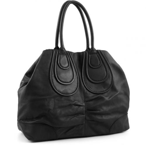 Liebeskind Vintage Maya Shopper Leder schwarz