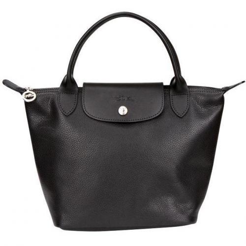 Longchamp Tasche Veau Foulonne Schwarz