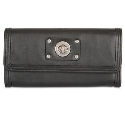 Marc By Marc Jacobs - Lange Dreifalt Leder Brieftasche