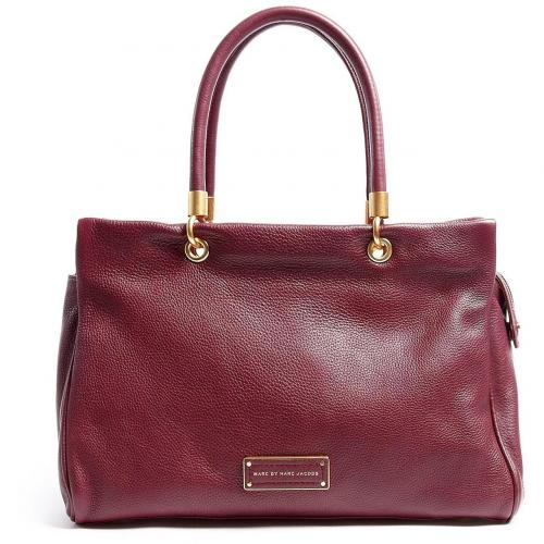 Marc by Marc Jacobs Red Too Hot To Handle Ultimate Leather Tote