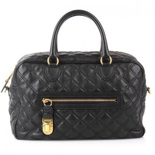 Marc Jacobs Manhattan Black With Brass