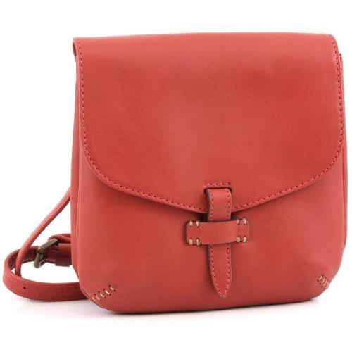 Marc O'Polo Amalie Schultertasche Leder rot