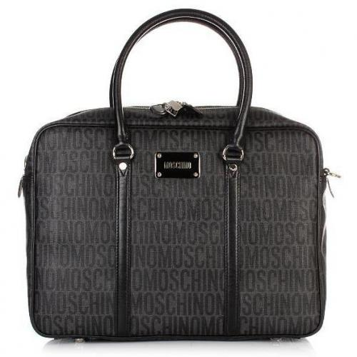 Moschino Business Henkeltasche Logoprint