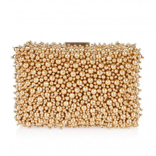 Moyna Tasche Gold Box Clutch
