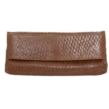 Nina Peter Zackenbarsch-Clutch brown