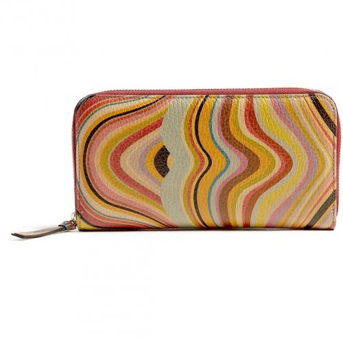 Paul Smith Accessories Swirl Zip Around Wallet