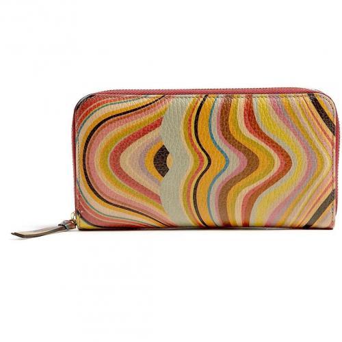 Paul Smith Accessories Swirl Zip Around Wallet