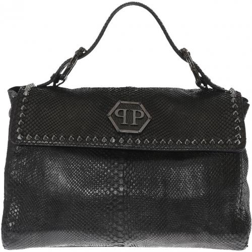 philipp plein hand bag army designer handtaschen. Black Bedroom Furniture Sets. Home Design Ideas