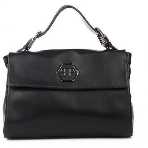 philipp plein hand bag classic black designer. Black Bedroom Furniture Sets. Home Design Ideas