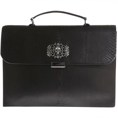 Philipp Plein Office Bag Reptile