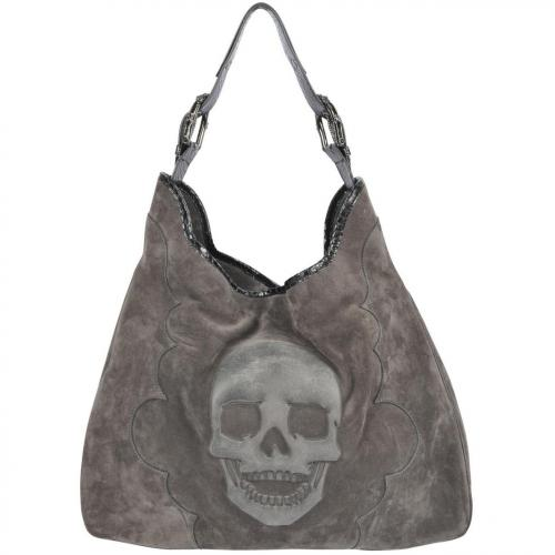 philipp plein tote bag skull designer handtaschen. Black Bedroom Furniture Sets. Home Design Ideas
