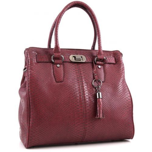 picard bologna shopper leder wein designer handtaschen. Black Bedroom Furniture Sets. Home Design Ideas