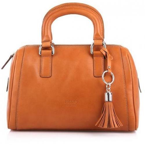 picard bowling bag virginia caramel designer handtaschen. Black Bedroom Furniture Sets. Home Design Ideas