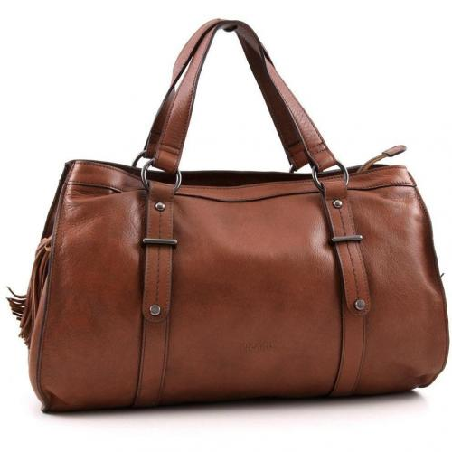 picard rider shopper leder cognac designer handtaschen. Black Bedroom Furniture Sets. Home Design Ideas