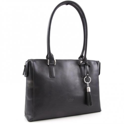 picard virginia shopper leder schwarz designer handtaschen paradies it bags burberry gucci. Black Bedroom Furniture Sets. Home Design Ideas