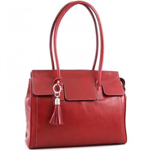 picard virginia shopper leder rot designer handtaschen. Black Bedroom Furniture Sets. Home Design Ideas