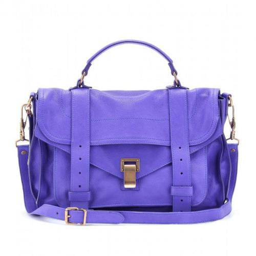 Proenza Schouler Ps1 Medium Ledertasche Purple Rain