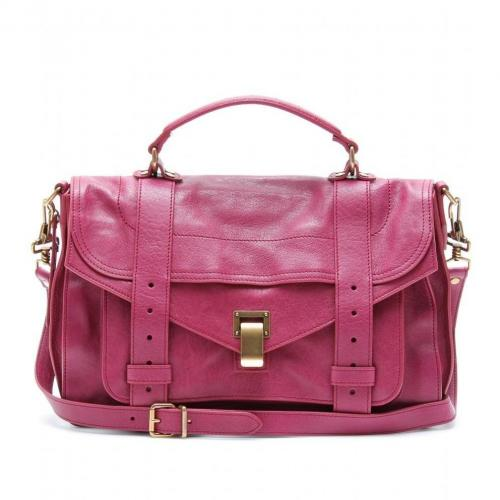 Proenza Schouler Ps1 Medium Ledertasche Raspberry
