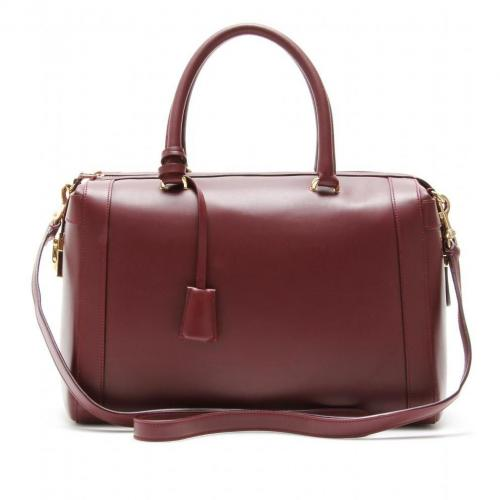 Salvatore Ferragamo Marilyn Ledertasche Bordeaux