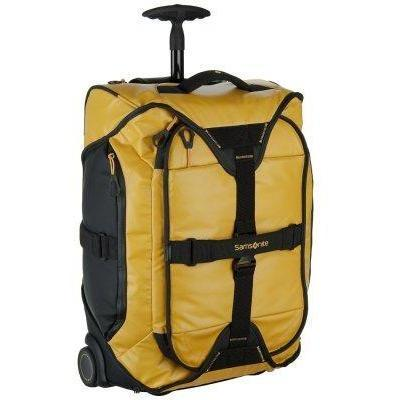 Samsonite PARADIVER DUFFLE BORDTROLLEY Reisetasche gelb