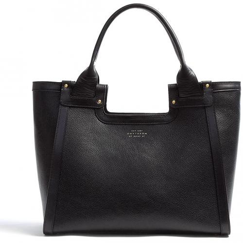 Smythson Cooper Leather Tote