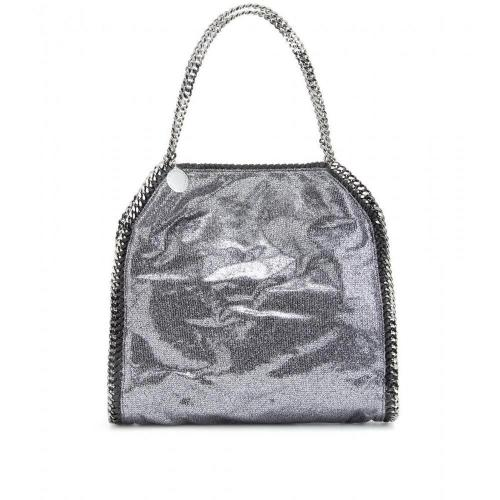 Stella McCartney Falabella Small Metallic-Schultertasche