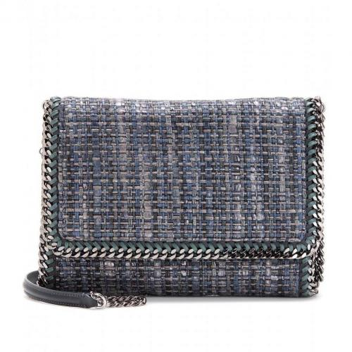 Stella McCartney Falabella Woven Fold-Over Tasche