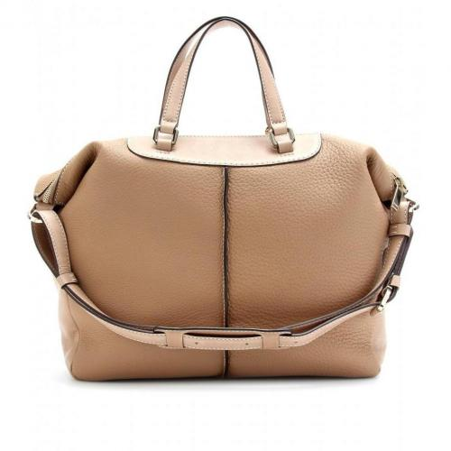 Tod's Classic Miky Ledertasche Beige