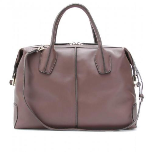 Tod's D-Styling Bauletto Medio Ledertasche Sigaro