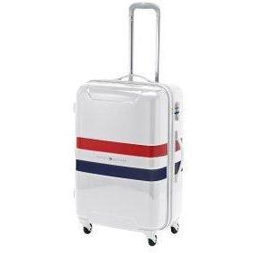 tommy hilfiger cruise hard 4rollentrolley trolley koffer weiss designer handtaschen paradies. Black Bedroom Furniture Sets. Home Design Ideas