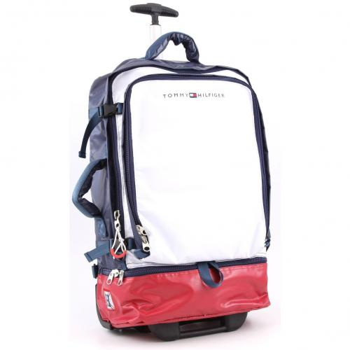 Tommy Hilfiger Cruise Soft Rucksack-Trolley blau