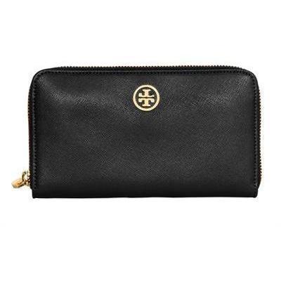 Tory Burch - Saffiano Leder Zip Around Brieftasche