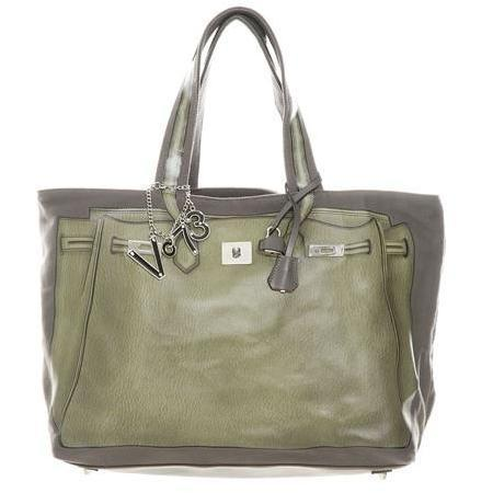 V73 Shopper Lady Italia taupe-grey Grün