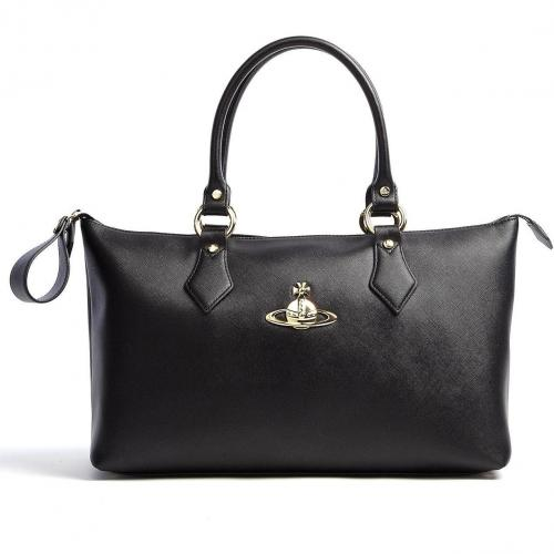 Vivienne Westwood Accessories Faux Leather Divina Tote Bag