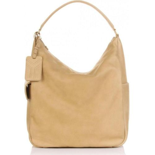 Yves Saint Laurent Borsa Multy Neri Ledertasche Beige