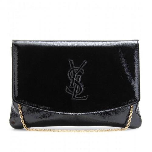 Yves Saint Laurent Lacklederclutch