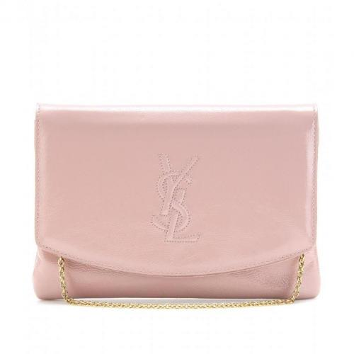 Yves Saint Laurent Lacklederclutch Dragee